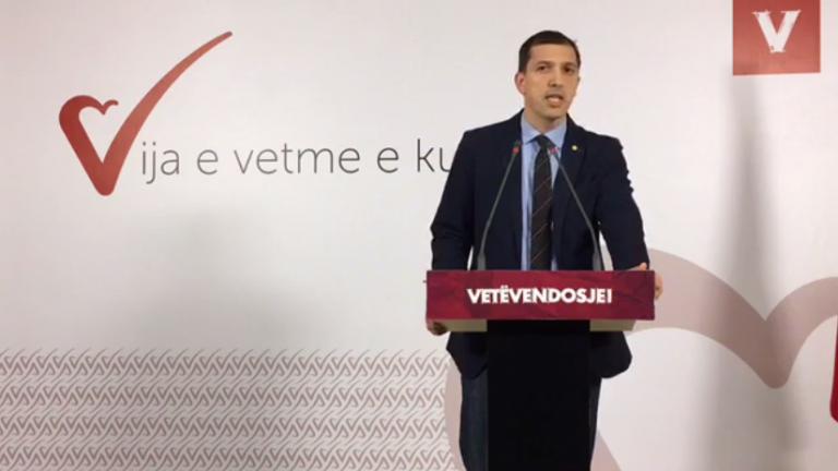Dardan Sejdiu jep dorëheqje nga pozitat në Vetëvendosje