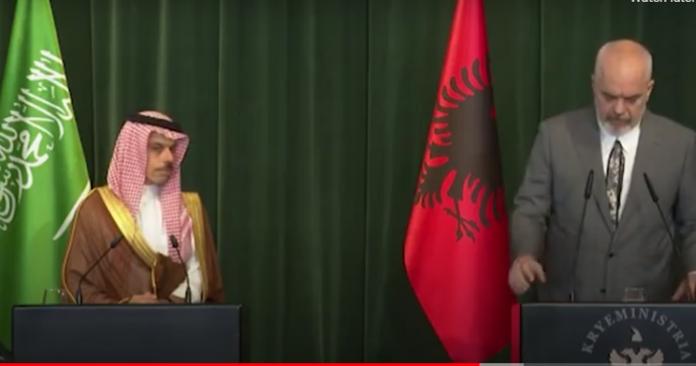 Rama pret ministrin e Jashtëm të Arabisë Saudite: Komitet i përbashkët për rritjen e bashkëpunimit ekonomik